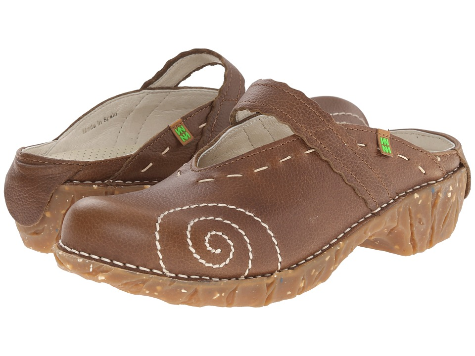 El Naturalista - Yggdrasil N096 (Kaki) Women's Clog Shoes