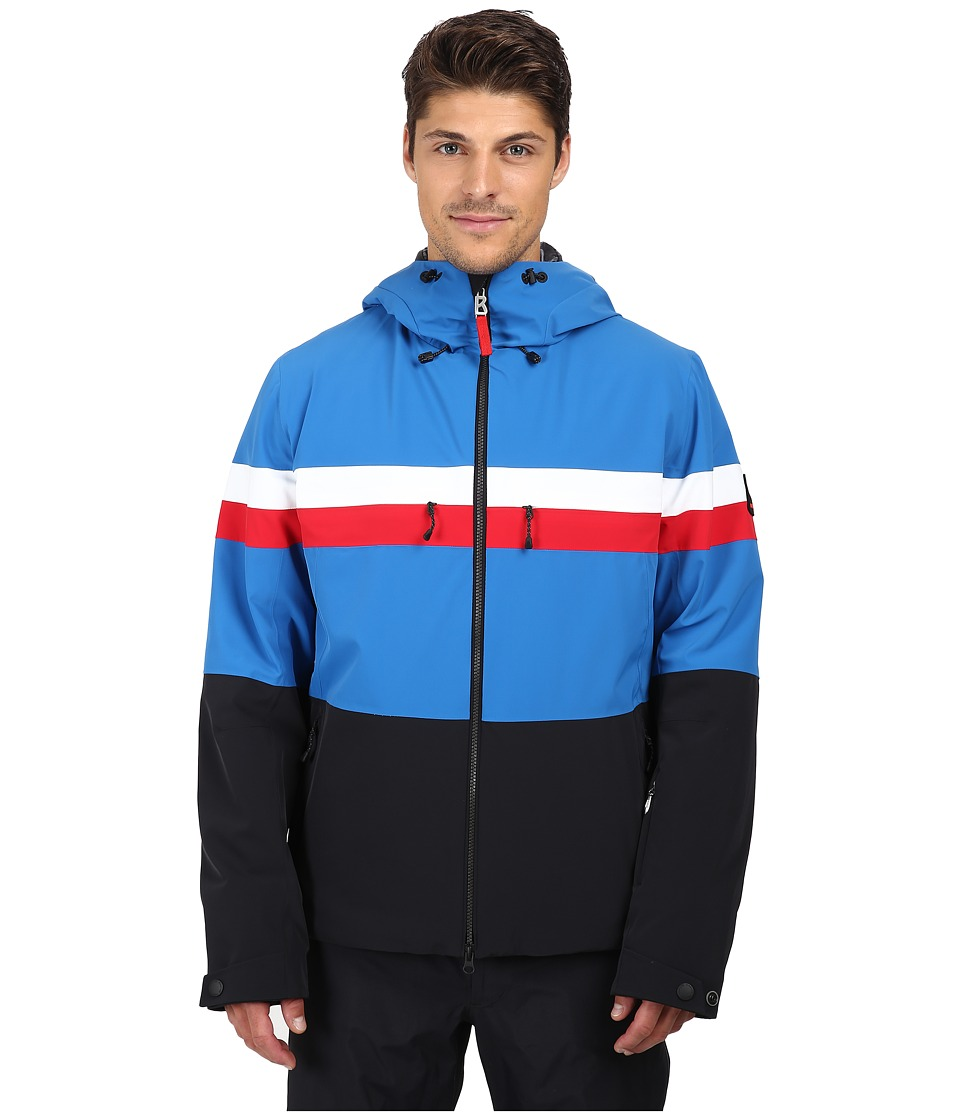 Bogner Fire + Ice - Curtis (Blue/Red/White/Black) Men's Clothing