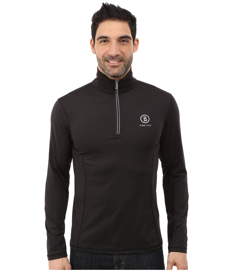 Bogner Fire + Ice - Berto (Black 1) Men's Long Sleeve Pullover