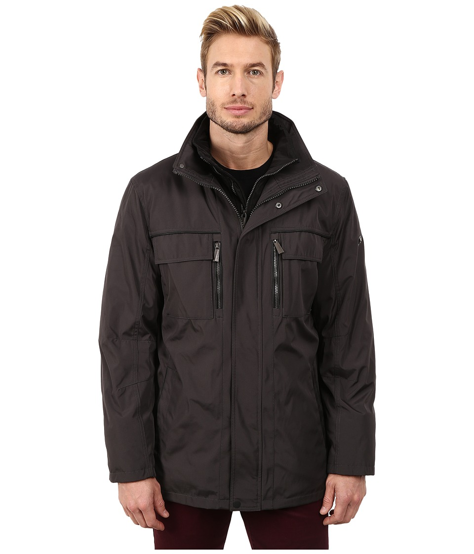 Calvin Klein - Poly Jacket with Bib (Smoke) Men