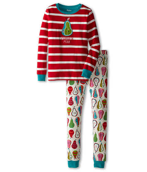 Hatley Kids - Harvest Pears PJ Set (Toddler/Little Kids/Big Kids) (Multi) Girl
