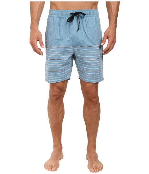Billabong - Venice Elastic Short (Washed Blue) Men