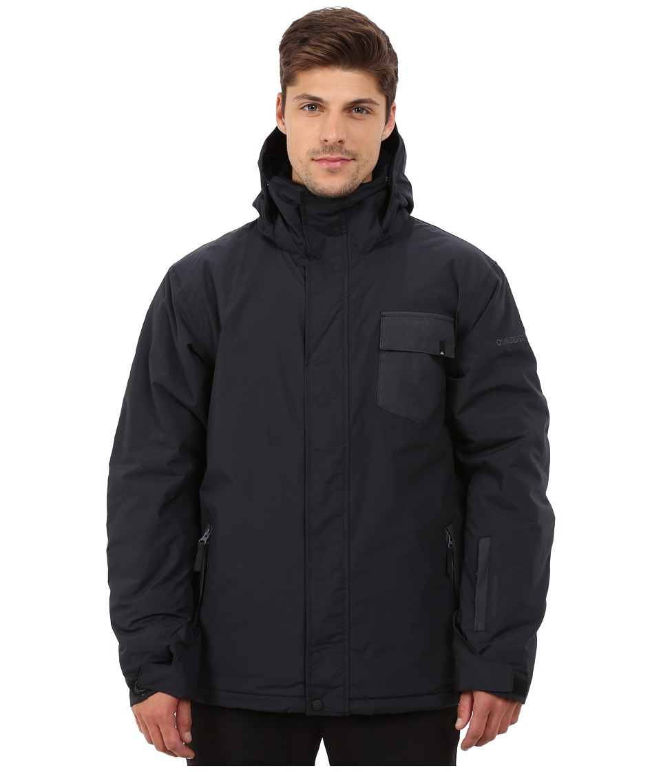 Quiksilver - Mission Plain Snow Jacket (Anthracite) Men