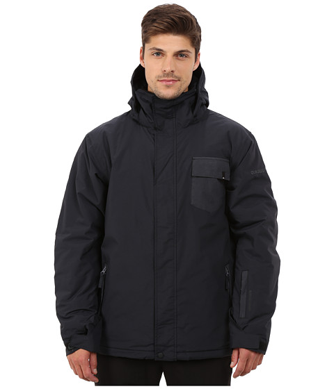 Quiksilver - Mission Plain Snow Jacket (Anthracite) Men's Coat