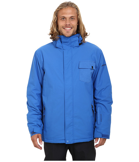 Quiksilver - Mission Plain Snow Jacket (Olympian Blue) Men