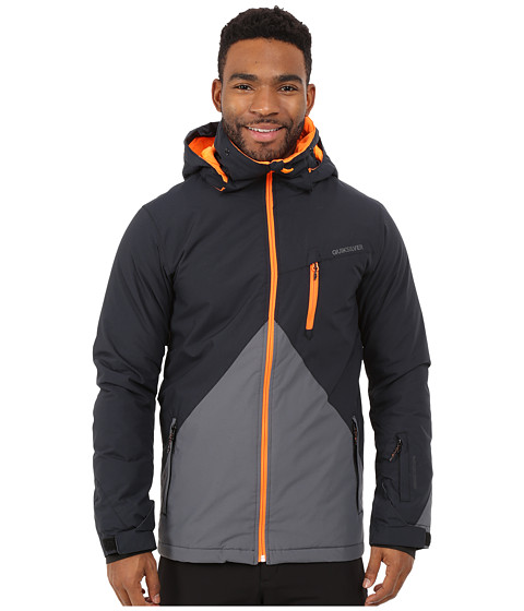 Quiksilver - Mission Color Block Snow Jacket (Iron Gate) Men's Coat