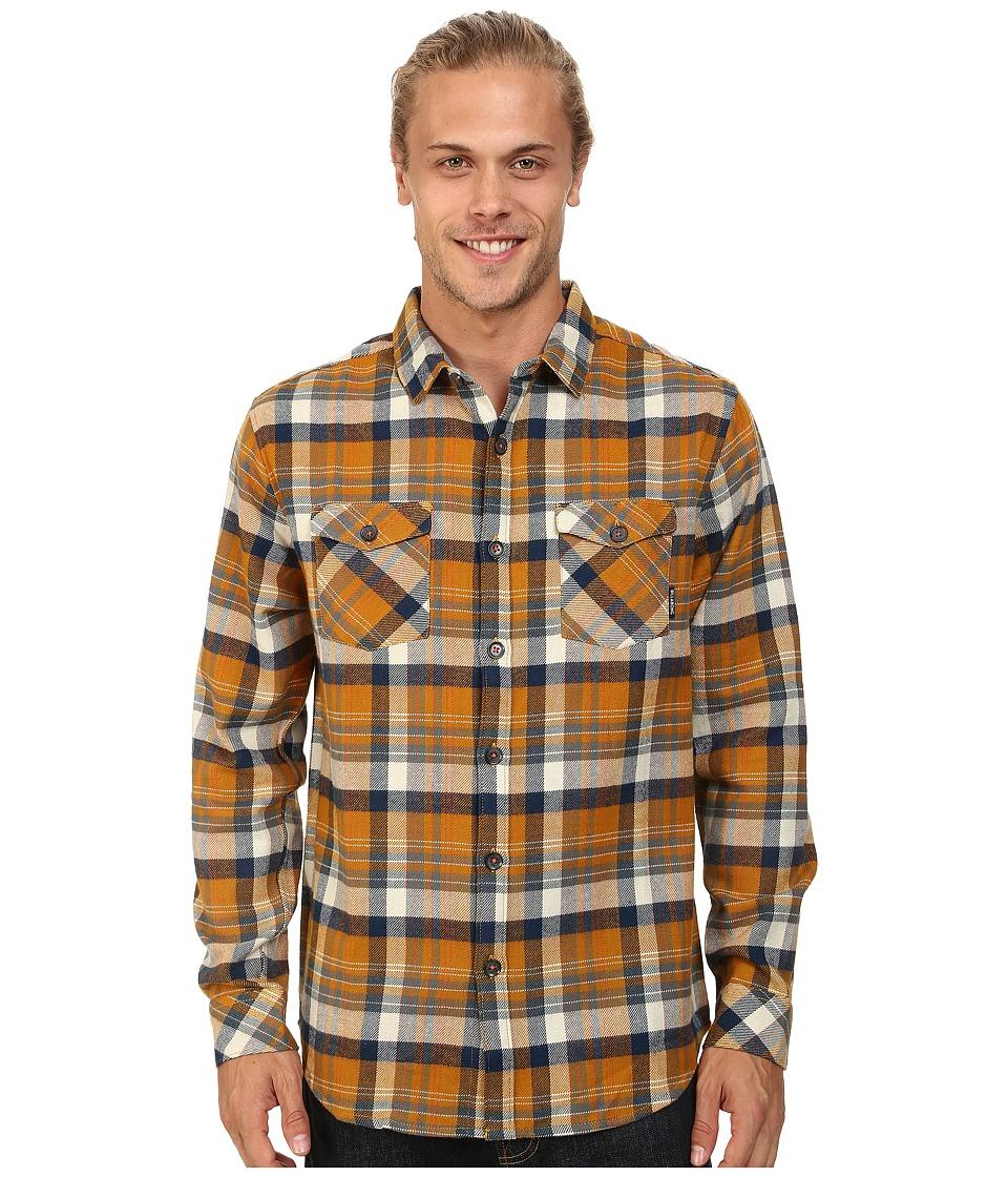 Billabong - High Jacked Long Sleeve Button Up (Wheat) Men's Long Sleeve Button Up