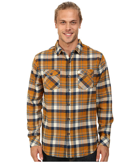 Billabong - High Jacked Long Sleeve Button Up (Wheat) Men