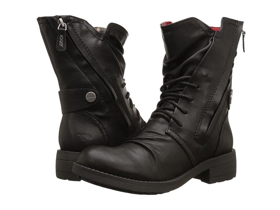 Rocket Dog - Tyree (Black Spartan) Women's Lace-up Boots