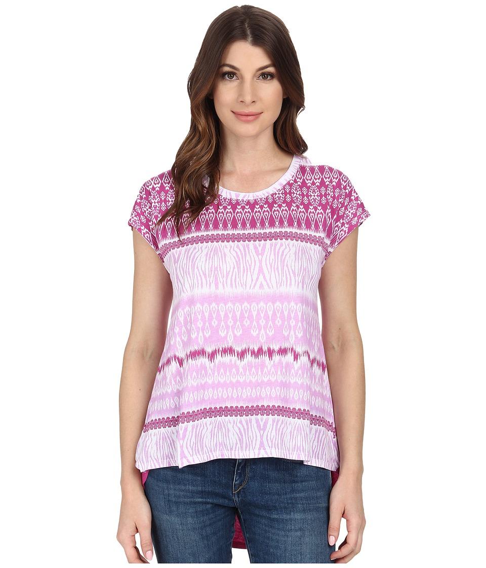 Mod-o-doc - Cotton Modal Jersey Crossover Back Tee (Sachet) Women's T Shirt