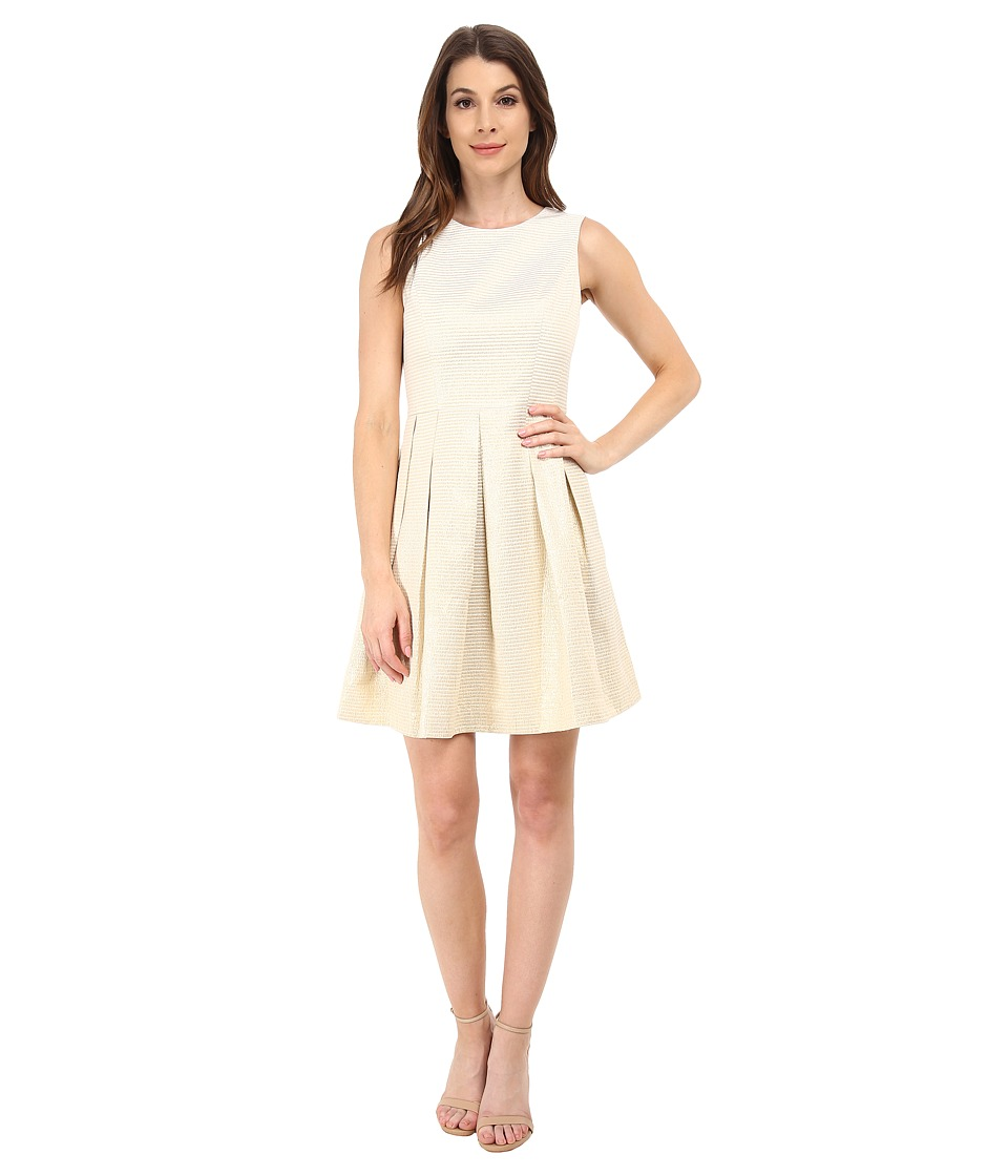 Shoshanna - Abigail Dress (Gold) Women's Dress