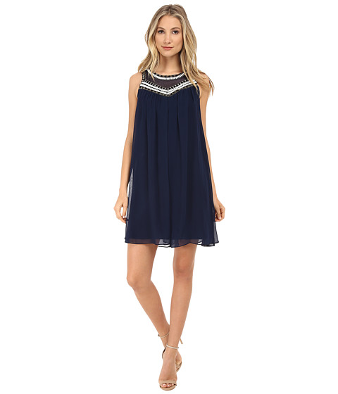 Shoshanna - Jezebel Dress (Ink) Women's Dress
