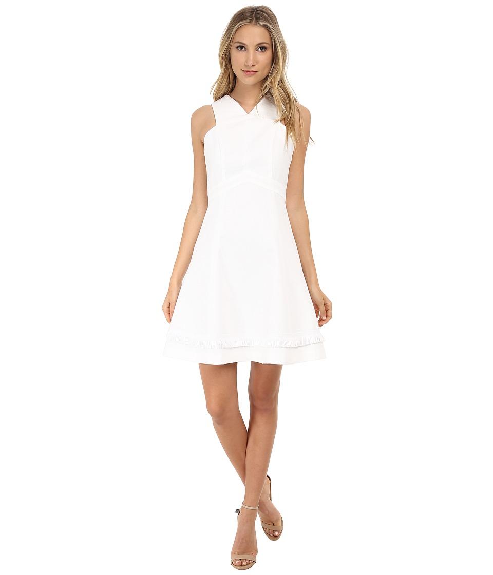 Shoshanna - Junelle Dress (White) Women's Dress