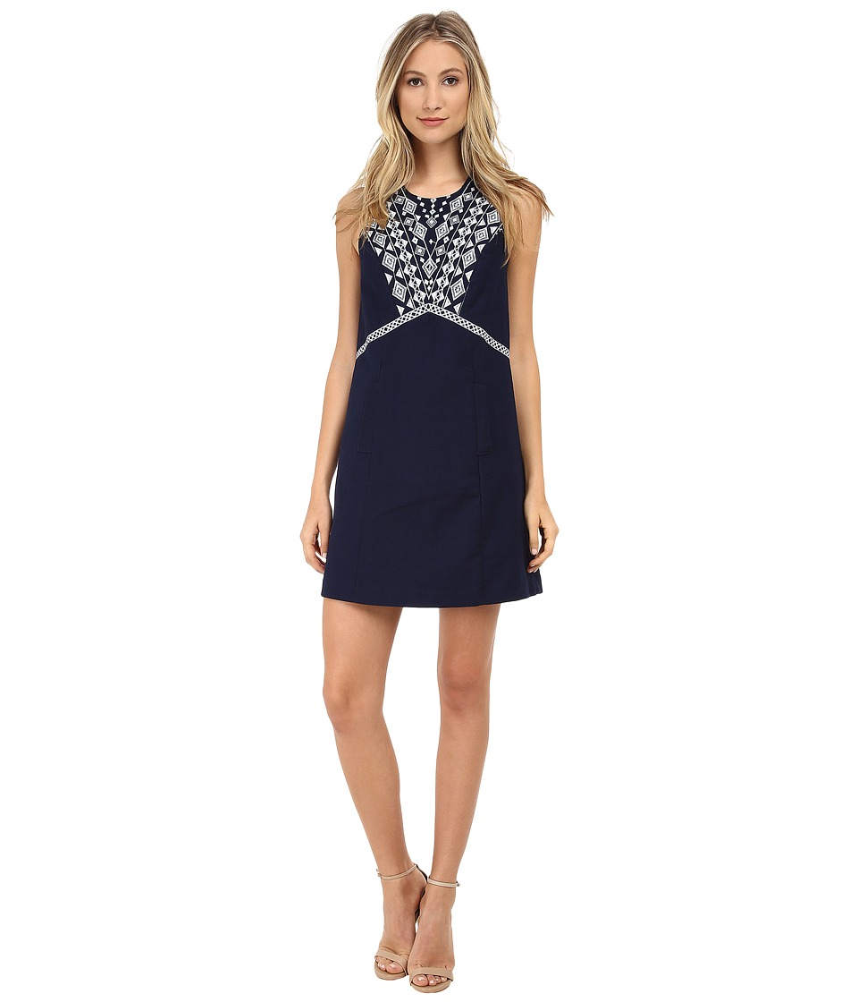 Shoshanna - Lindy Dress (Ink) Women's Dress