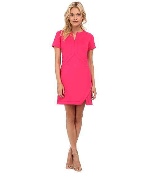 Shoshanna - Dominique Dress (Hibiscus) Women's Dress