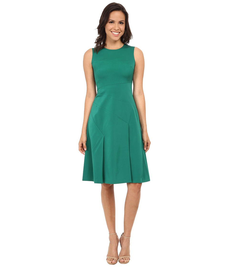 Shoshanna - Kasia Dress (Leaf/Ink) Women's Dress