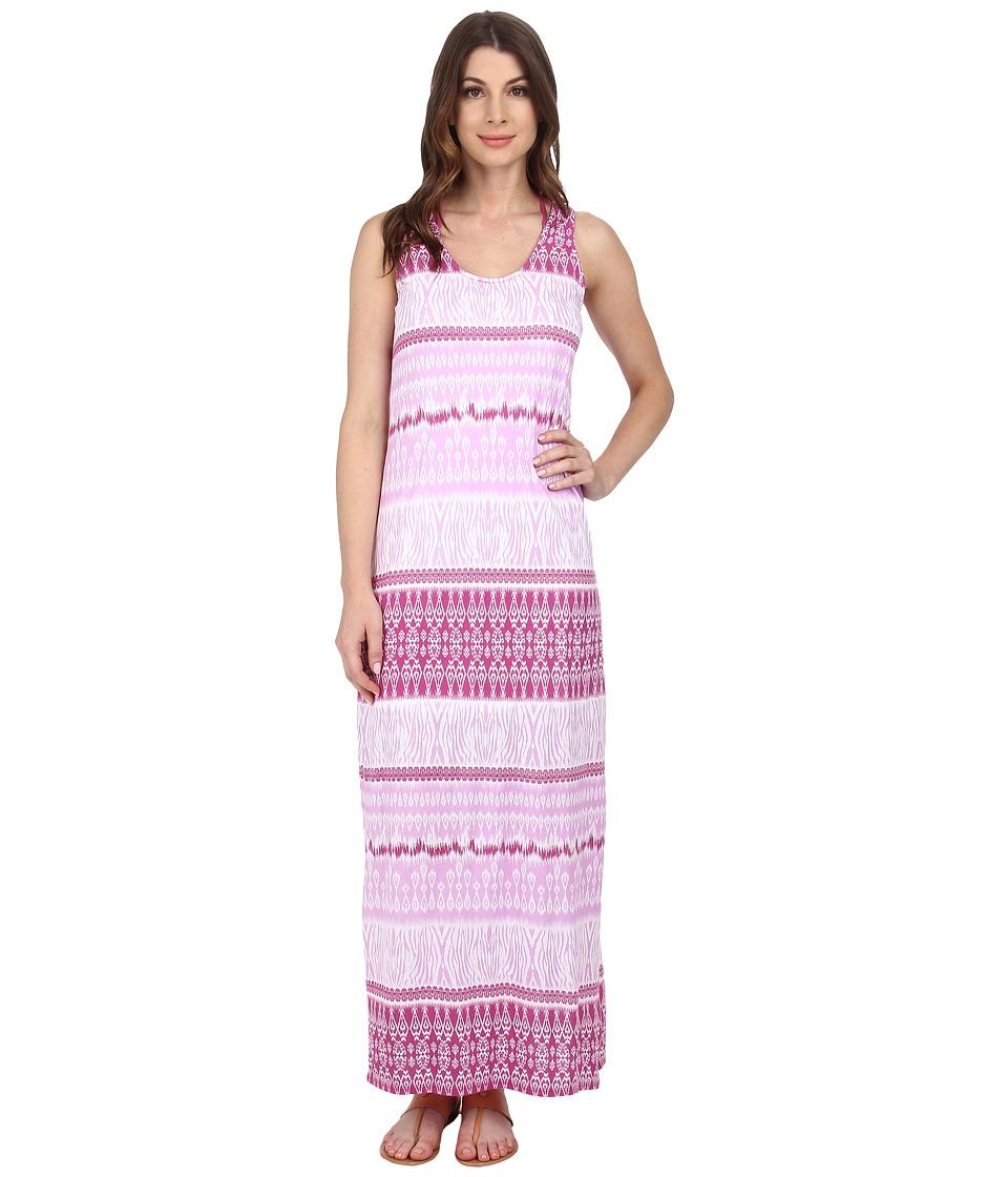 Mod-o-doc - Cotton Modal Jersey Double Scoop-Neck Maxi Dress (Sachet) Women's Dress