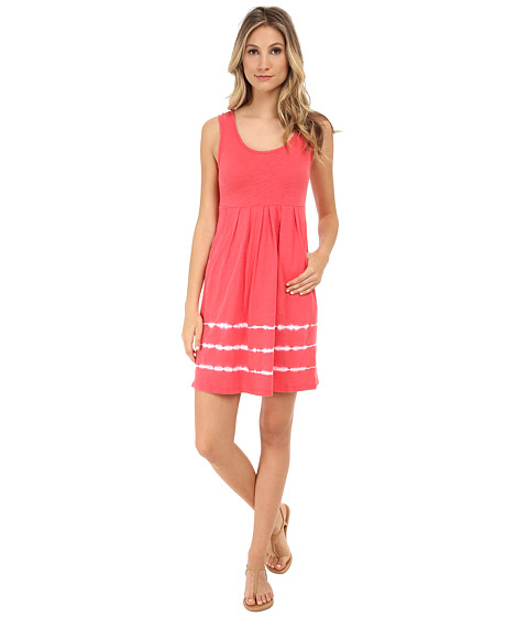 Mod-o-doc - Tie-Dye Stripe Tank Dress (Tutti Frutti) Women's Dress