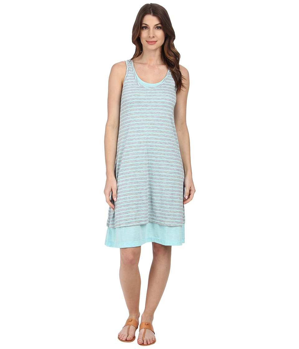 Mod-o-doc - Back Keyhole Tank Dress (Atlantic) Women's Dress
