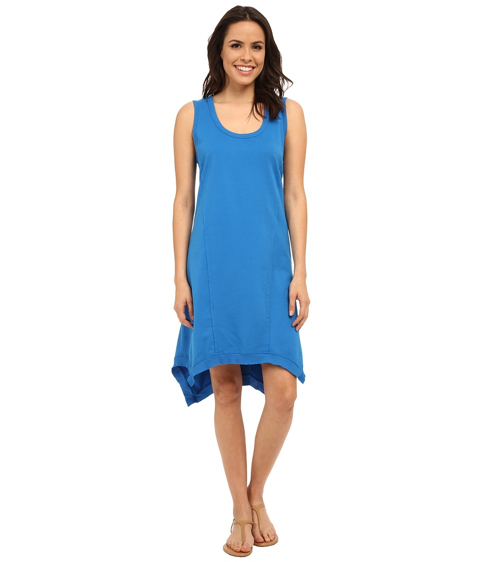 Mod-o-doc French Terry Raw Edge Seamed Tank Dress (Mirage) Women