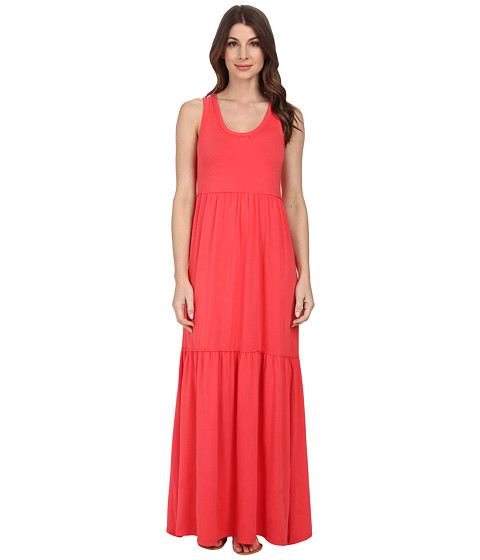Mod-o-doc - Cotton Modal Spandex Jersey Tiered Maxi Tank Dress (Tutti Frutti) Women