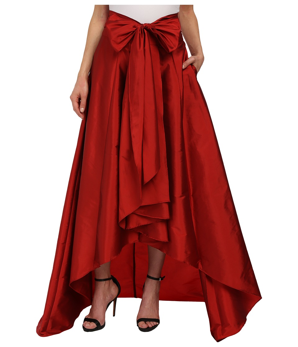Adrianna Papell - High-Low Ball Skirt (Red) Women's Skirt