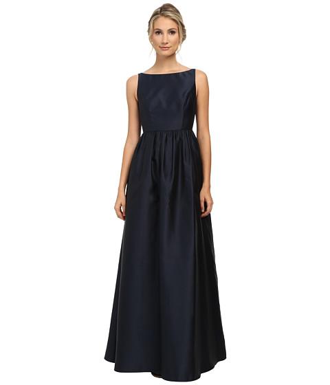 Adrianna Papell - Sleeveless Mikado Ball Gown (Midnight) Women