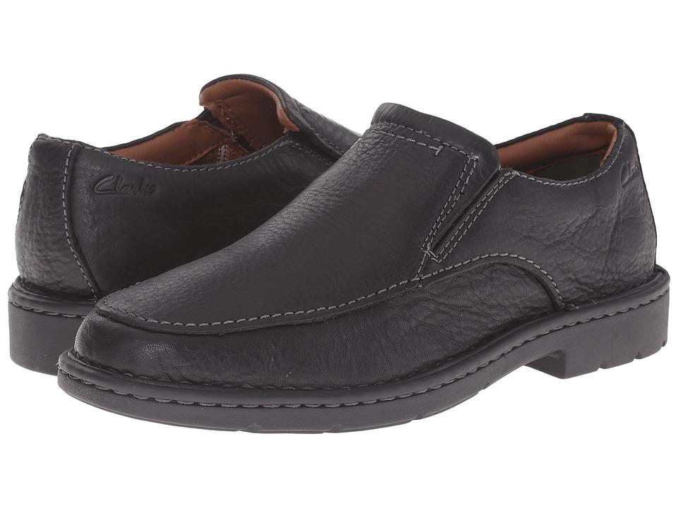 Clarks - Stratton Easy (Black Leather) Men