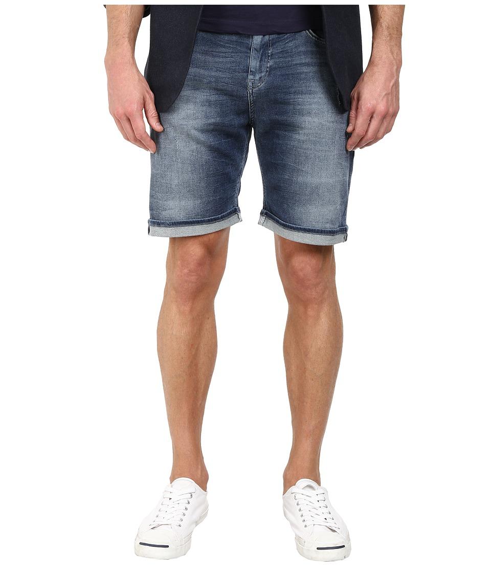 Mavi Jeans - Brian Mid Rise Shorts in Indigo Sporty (Indigo Sporty) Men's Shorts