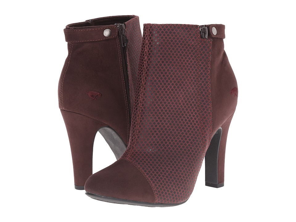 Rocket Dog - Jolita (Burgundy Rattle) Women's Dress Boots