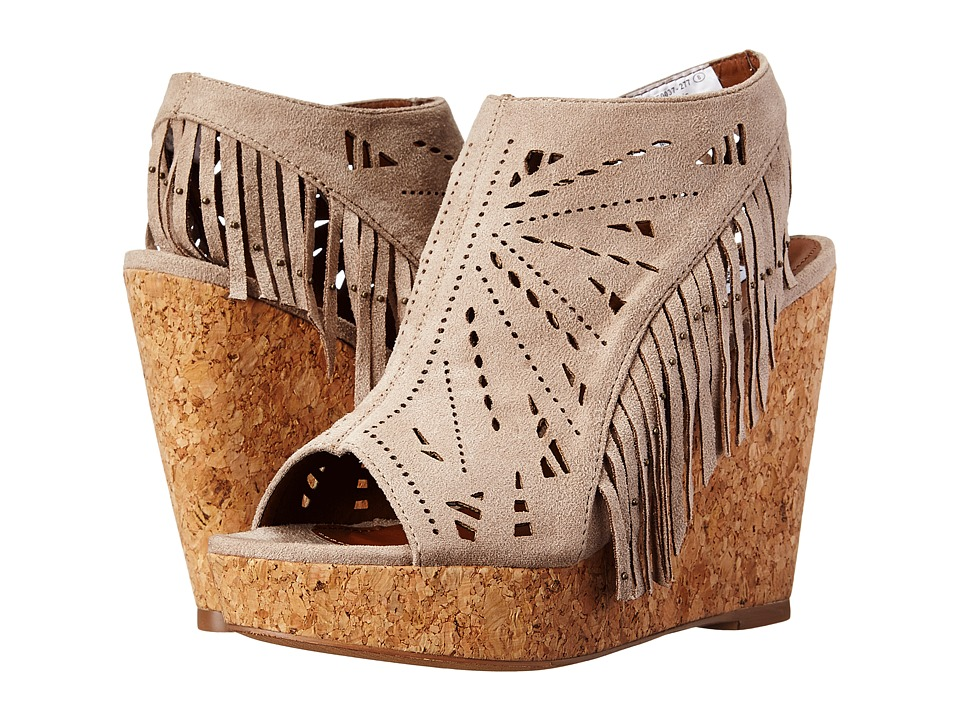 Not Rated Fringe Delight (Taupe) Women