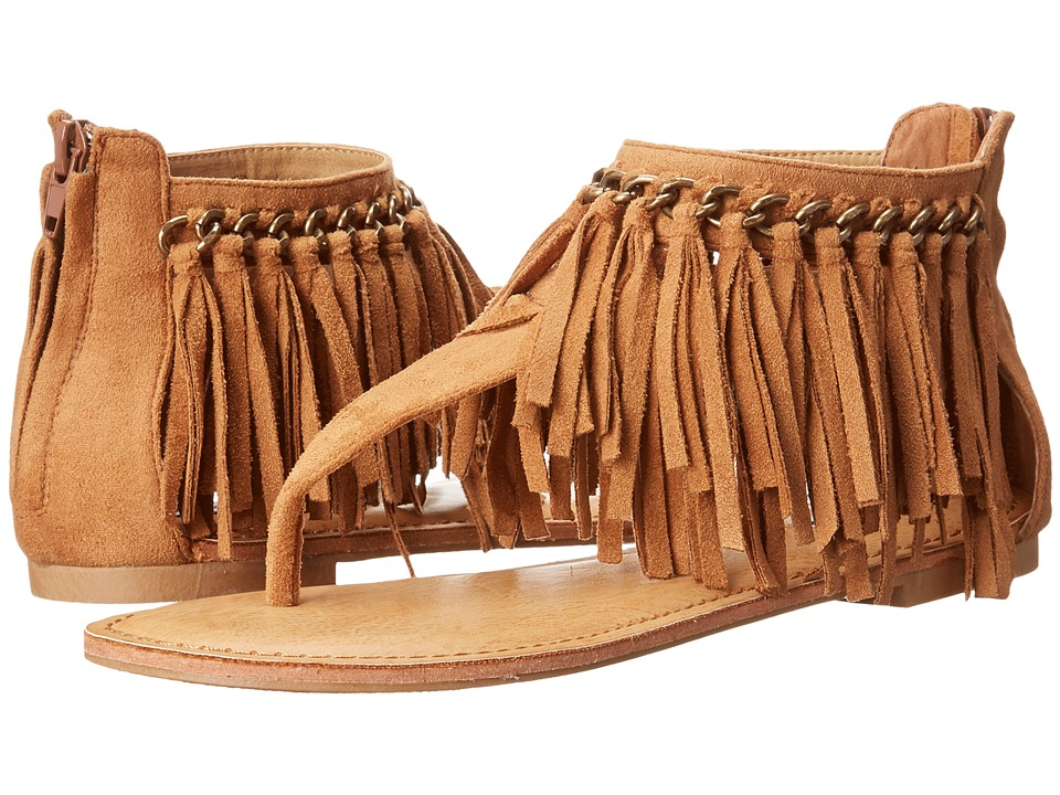 Not Rated Keep The Peace (Tan) Women's Sandals