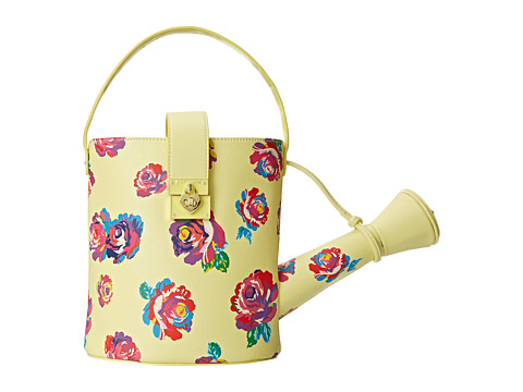 Betsey Johnson - Kitchi Top Handle (Yellow) Handbags