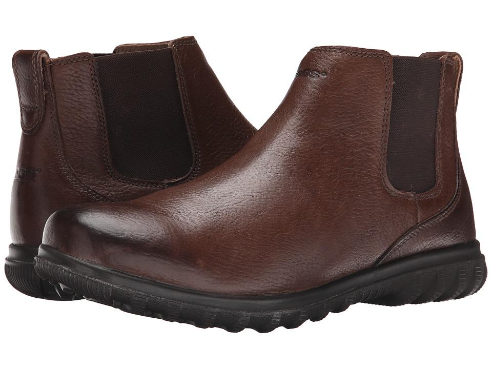 Bogs Eugene Leather Boot (Mocha) Men