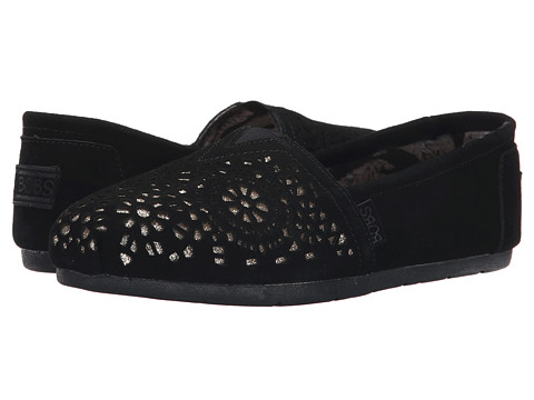 BOBS from SKECHERS - Luxe Bobs - Stained Glass (Black) Women