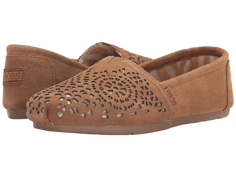 BOBS from SKECHERS - Luxe Bobs - Stained Glass (Chestnut) Women's Slip on Shoes