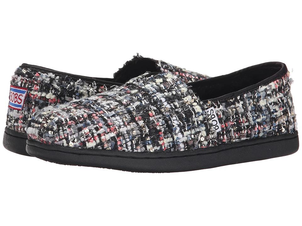 BOBS from SKECHERS - Bobs Bliss - Flirt (Black) Women's Slip on Shoes