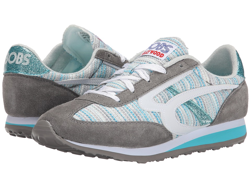 BOBS from SKECHERS Melrose (Gray/Blue) Women