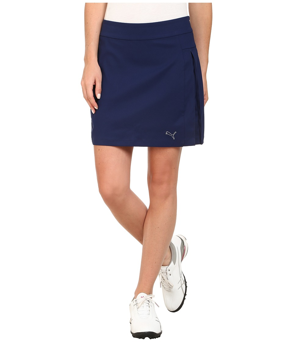 PUMA Golf - Pleated Skort (Medieval Blue) Women