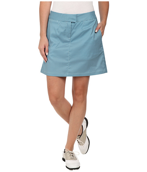 PUMA Golf - Diamond Tech Skort (Blue Coral/Clearwater) Women's Skort