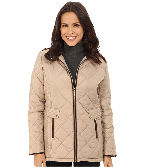 Weatherproof - Shorter City Jacket (Flax) Women's Coat