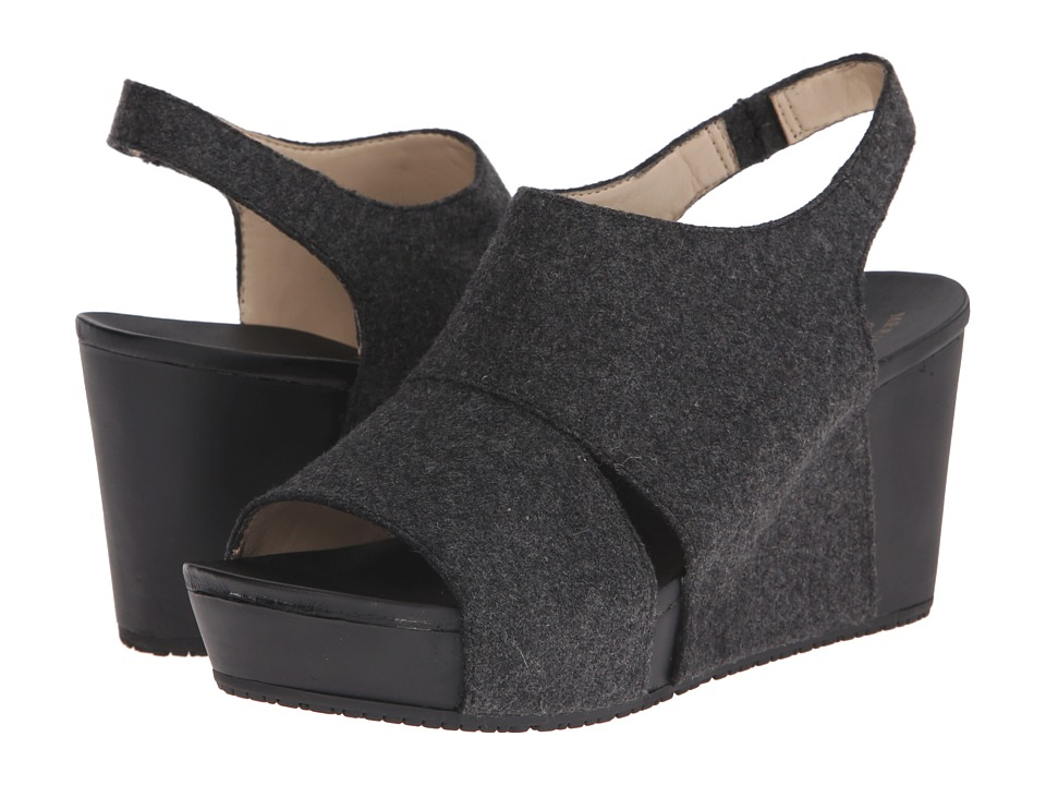Dr. Scholl's - Weslyn - Original Collection (Charcoal Flannel) Women's Wedge Shoes