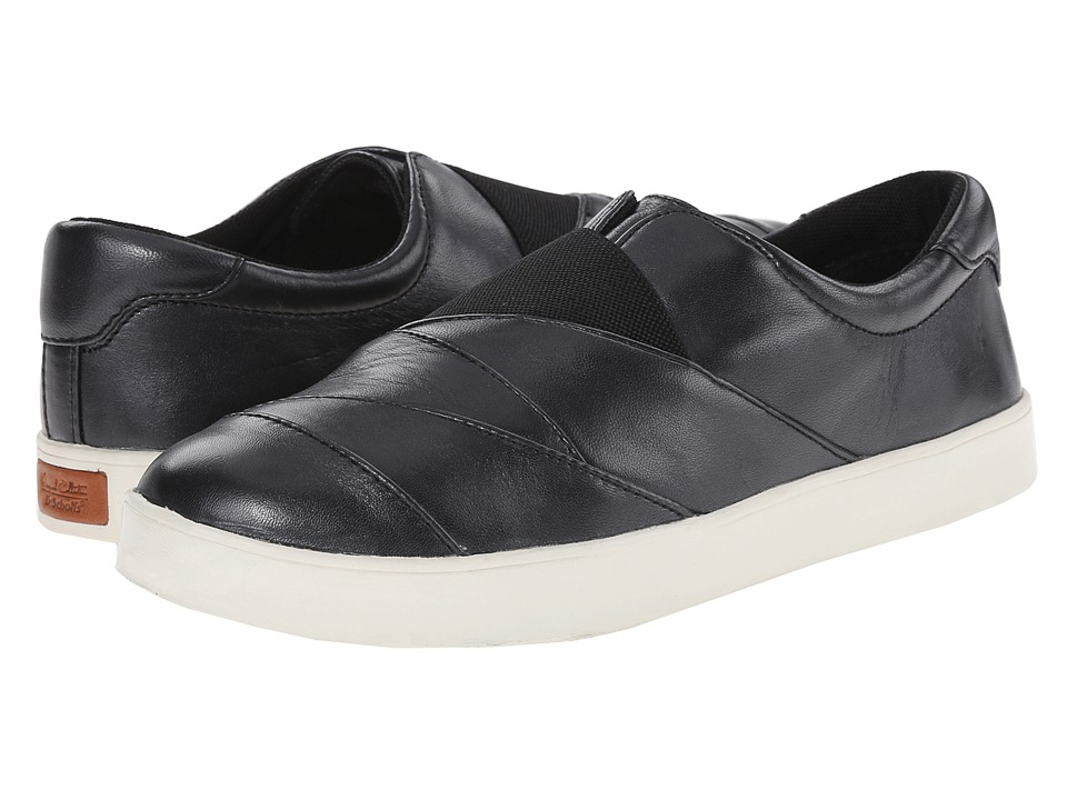Dr. Scholl's - Sienna - Original Collection (Black Leather) Women's Flat Shoes