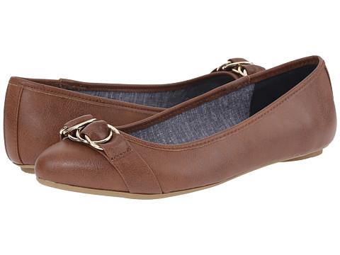 Dr. Scholl's - Rianna (Dark Saddle) Women's Flat Shoes