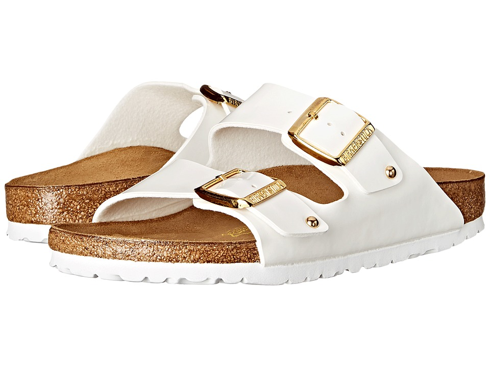 Birkenstock - Arizona (White Studs) Shoes