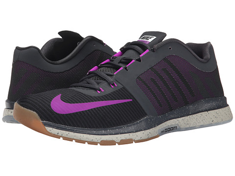 Nike - Zoom Speed TR 3 (Anthracite/Black/Lunar Grey/Vivid Purple) Men's Cross Training Shoes