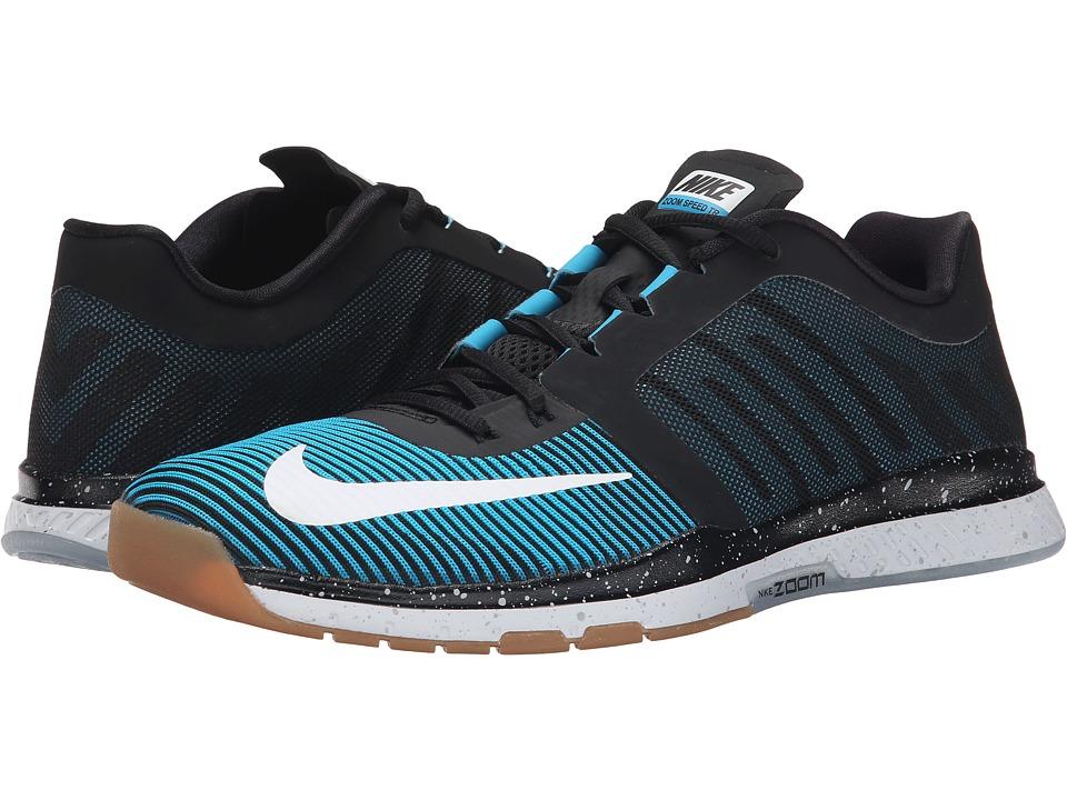 Nike - Zoom Speed TR 3 (Black/Blue Lagoon/Black) Men