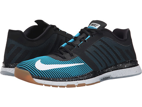 Nike - Zoom Speed TR 3 (Black/Blue Lagoon/Black) Men's Cross Training Shoes
