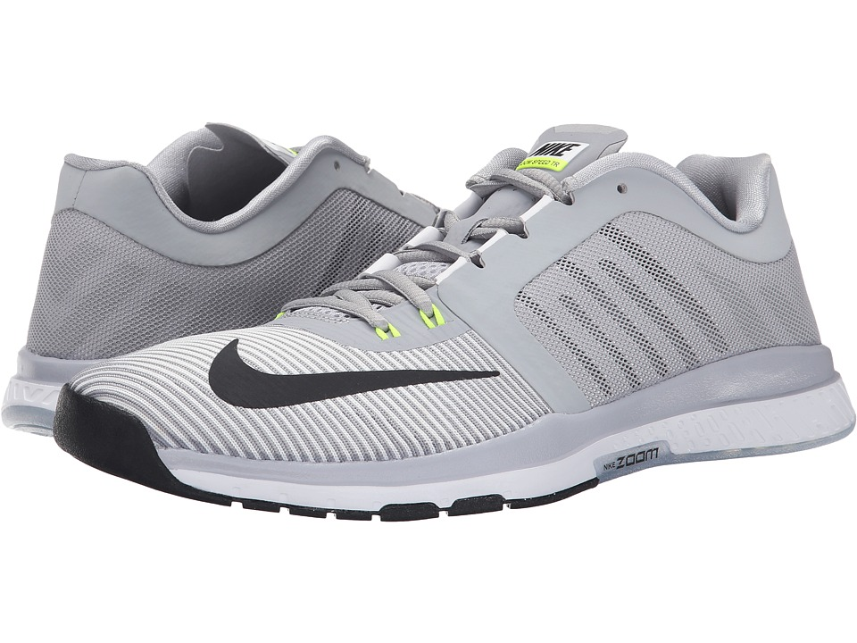 Nike - Zoom Speed TR 3 (Wolf Grey/Volt/White/Black) Men's Cross Training Shoes
