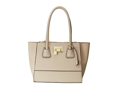 London Fog - Hudson Satchel (Ivory) Satchel Handbags